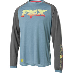 Fox Ranger Dri-Release Foxhead LS Jersey Men light blue